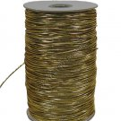 "Gold Metallic Elastic Cord/String 1/16"" 288 yards Craft"