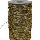 "Gold Metallic Elastic Cord/String 1/16"" 288 yards Craft"