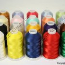 20 CTS POLYESTER EMBROIDERY MACHINE THREAD SET NEW!!!