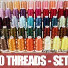50 CONES OF EMBROIDERY MACHINE THREADS  SET 3