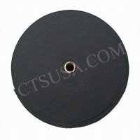 """Black Knitted Elastic 3/4"""" Inch Wide 50 Yards Roll"""