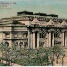 Vintage New York Postcard - Metropolitan Museum of Art, New York City