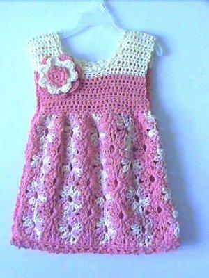 Dressy Emily Crochet Dress Pattern 2-4 yrs Original Design