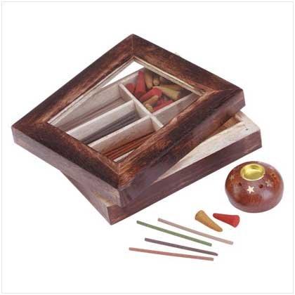 Incense cone/Stick/Holder set