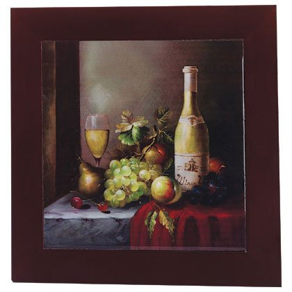 Grapes Wine Wall Trivet Plaque