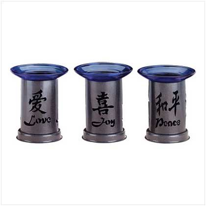 Love, peace, joy oil burners