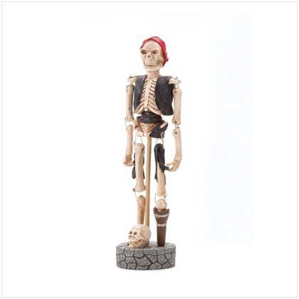 Paper Pulp Skeleton Pirate