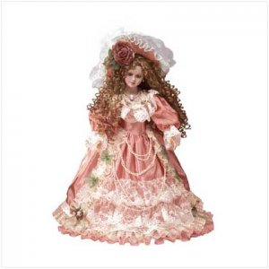 18 porc. victorian doll - desiree