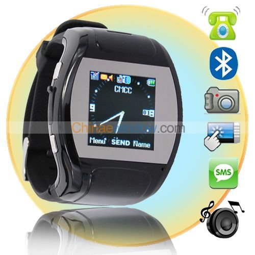 1.5 inch Plastic Wristband Cool Watch cell Phone