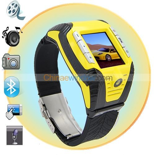 Fashionable 1.3 Inch Touch Screen Triple Band Watch Phone  F3