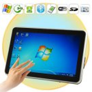 10.1 Inch Multi-Touch Windows MID with 3 / 3.5G Module, LAN, Leather Case