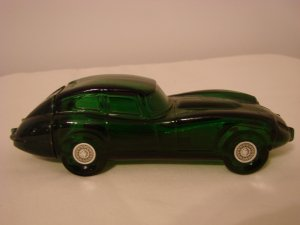 Vintage Avon Wild Country Decanter -  Jaguar Car  (435)
