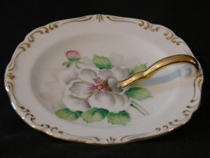 Rossetti China One Handled Nappy or Candy Dish