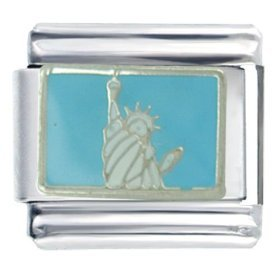 Statue of Liberty Italian Charm (9mm)