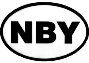 Newbury (NBY) Euro Sticker