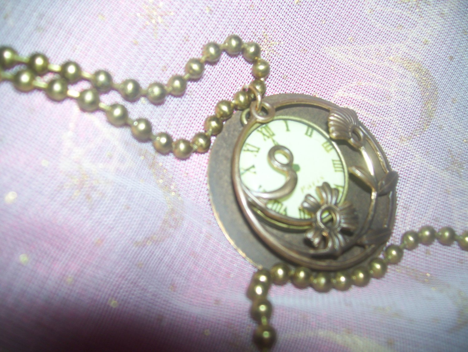"""Behind Time"" Pendant"