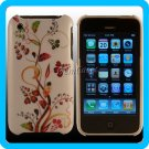 White Designer Case Hard Cover iPhone 3G 3GS ~USA~