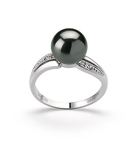 Black Tahitian Ring -