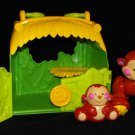 Fisher Price Amazing Animals Monkey Friends Tote Hut