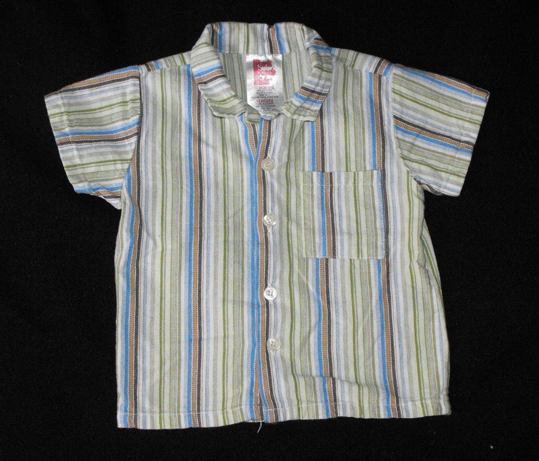 Park Bench Kids Boys 12-18 Months Button Up Shirt