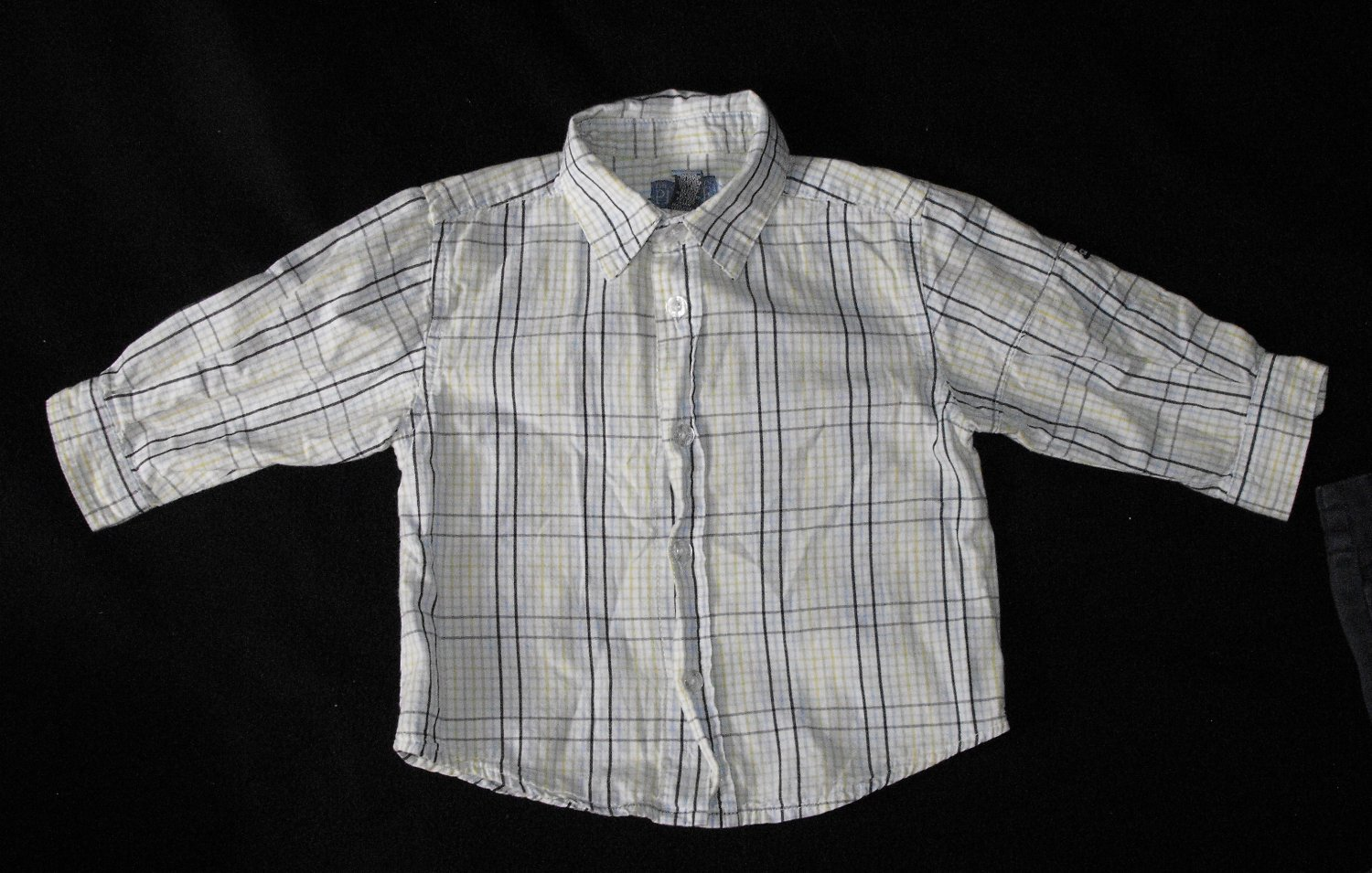 The Children's Place TCP Boys 12 Months Long Sleeve Button Up Shirt