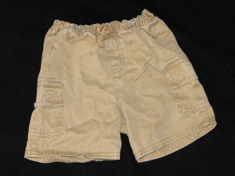 Baby Boys 12 month Basic Editons Elastic Waist Shorts