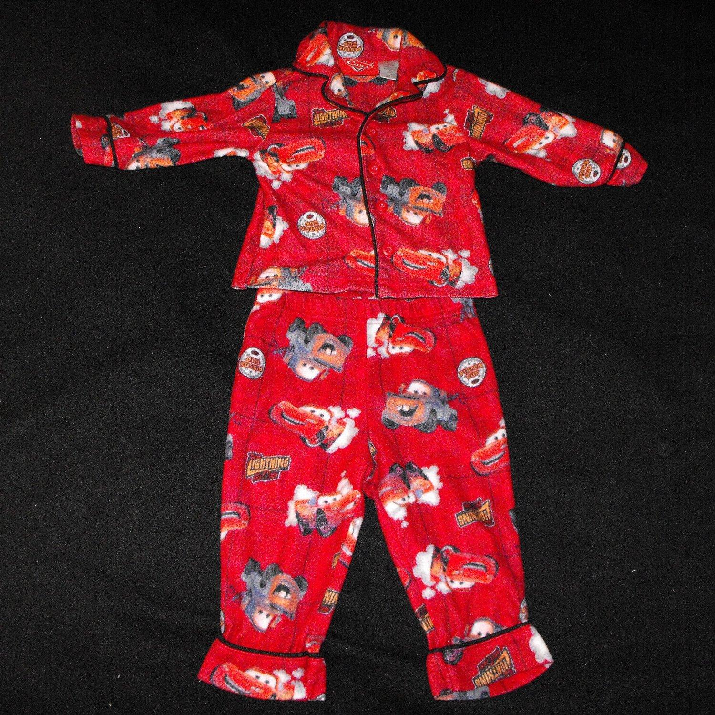 Disney Pixar Cars Baby Boys 12 months 2 peice Flannel PJ
