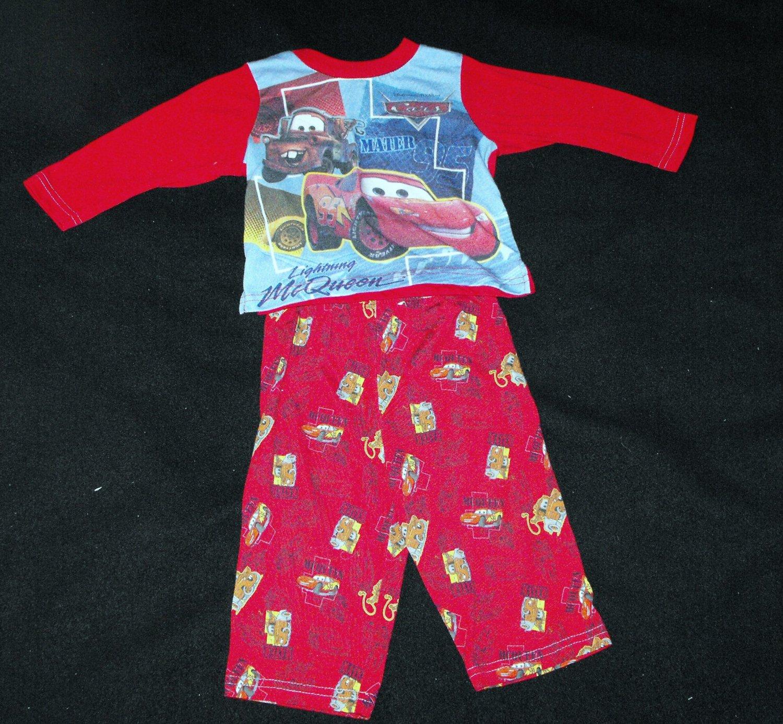 Disney Pixar Cars Baby Boys 12 months 2 peice Cotton PJ