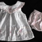 KT Kids Baby Girl 3 6 month 2 peice Dress and Bloomers