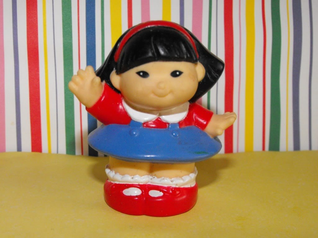 10*SOLD~Fisher Price Little People 1997 Fun Park Sonya