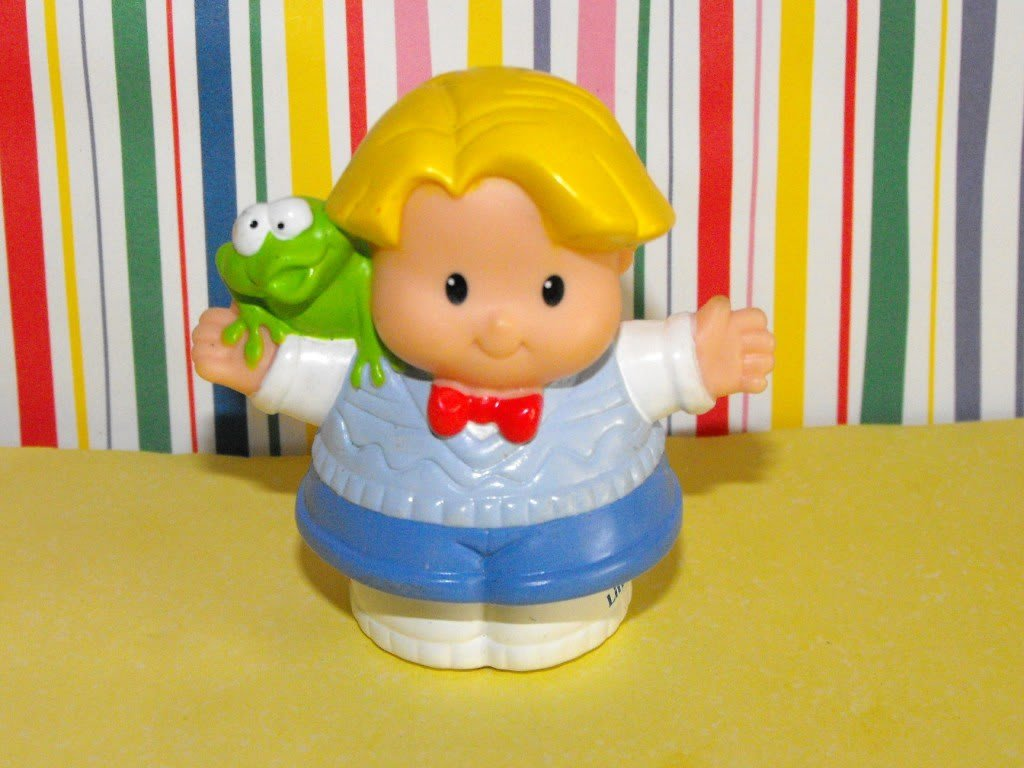 12*SOLD~Fisher Price Little People Easter Eddie n'  Freddie
