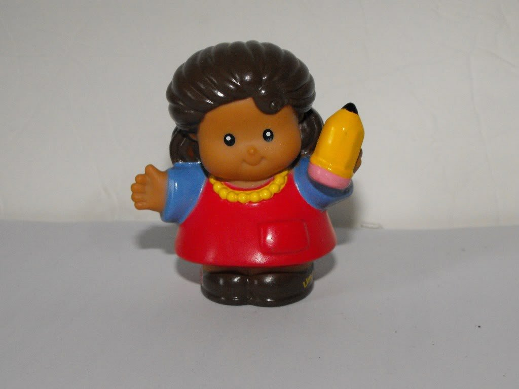 Fisher Price Little People Time-to-Learn Preschool ABC Alphabet Teacher Part