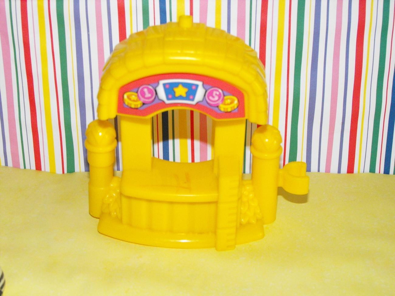 Fisher Price Little People Surprise Sounds Funpark Ticket Booth