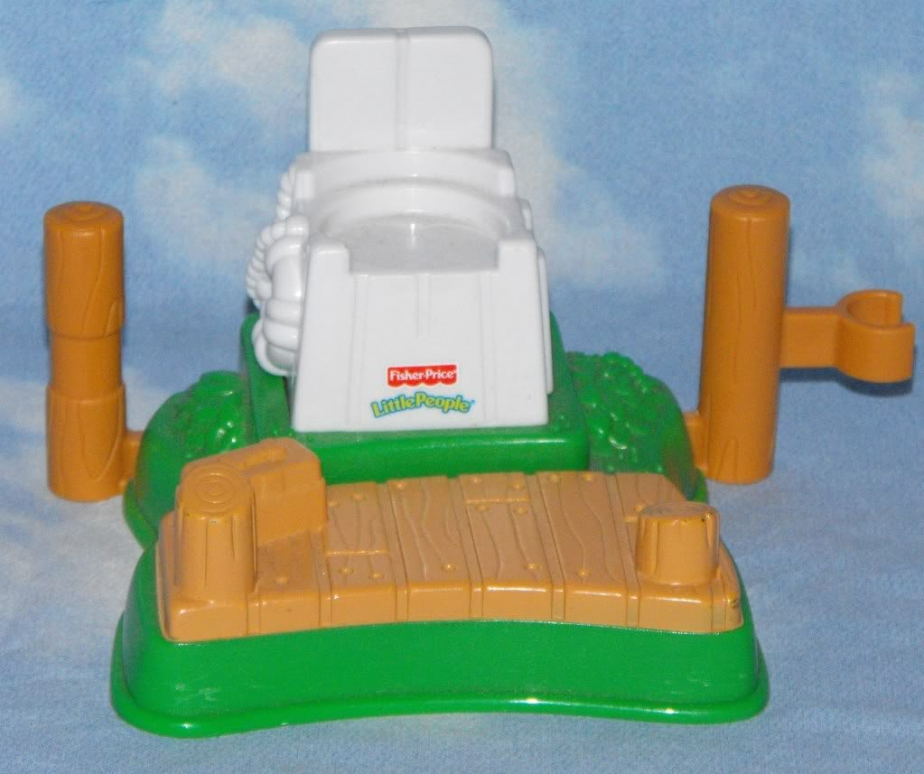 Fisher Price Little People Lifeguard Station Boating Fun