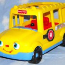 Fisher Price Little People 1998 School Bus Eyes Move