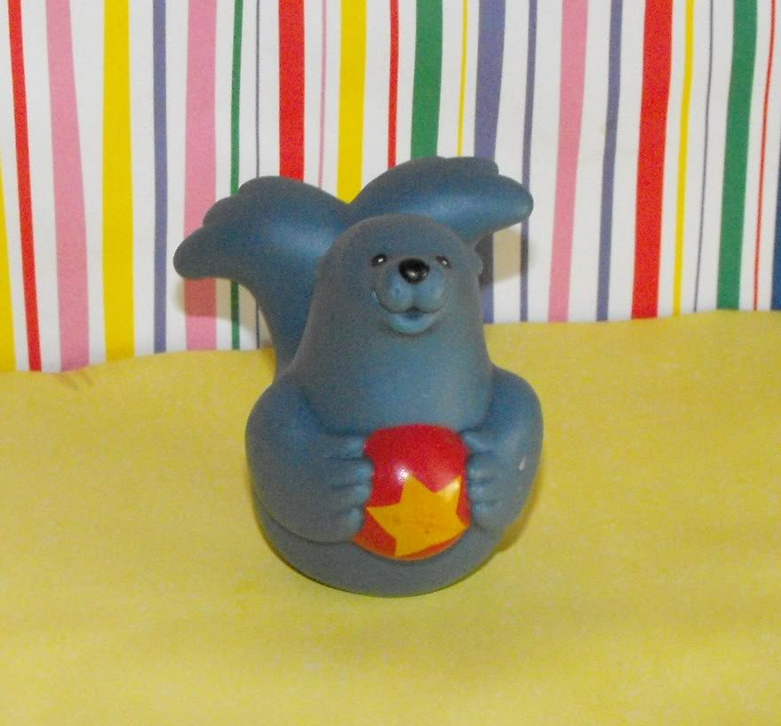 *7/13*SOLD~Fisher Price Little People Circus Zoo Circus Seal Part