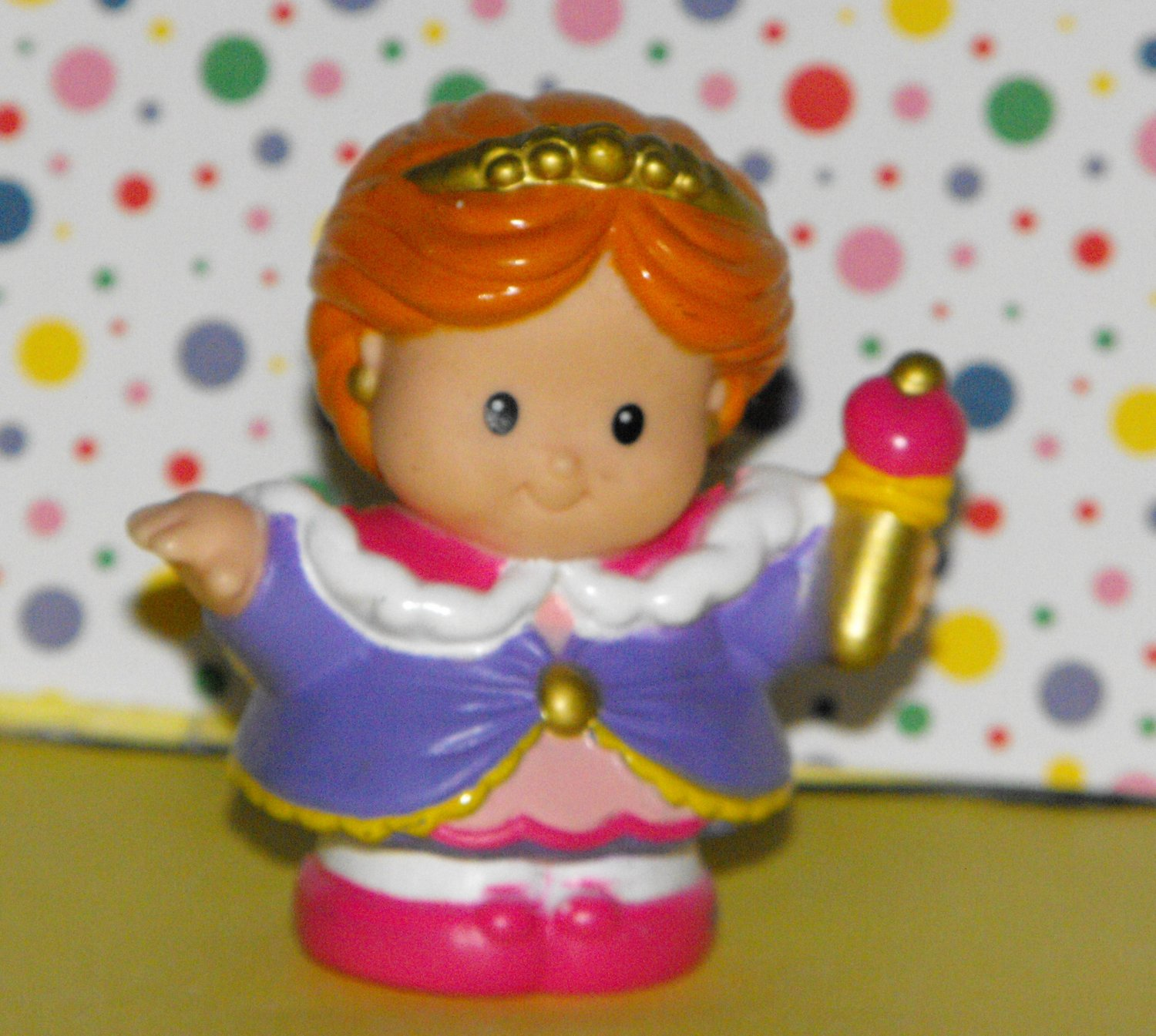 SOLD~Awaiting Feedback~Fisher Price Little People Castle Playset Queen