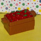 Fisher Price Little People Farm Tractor Apple Crate Cart Part