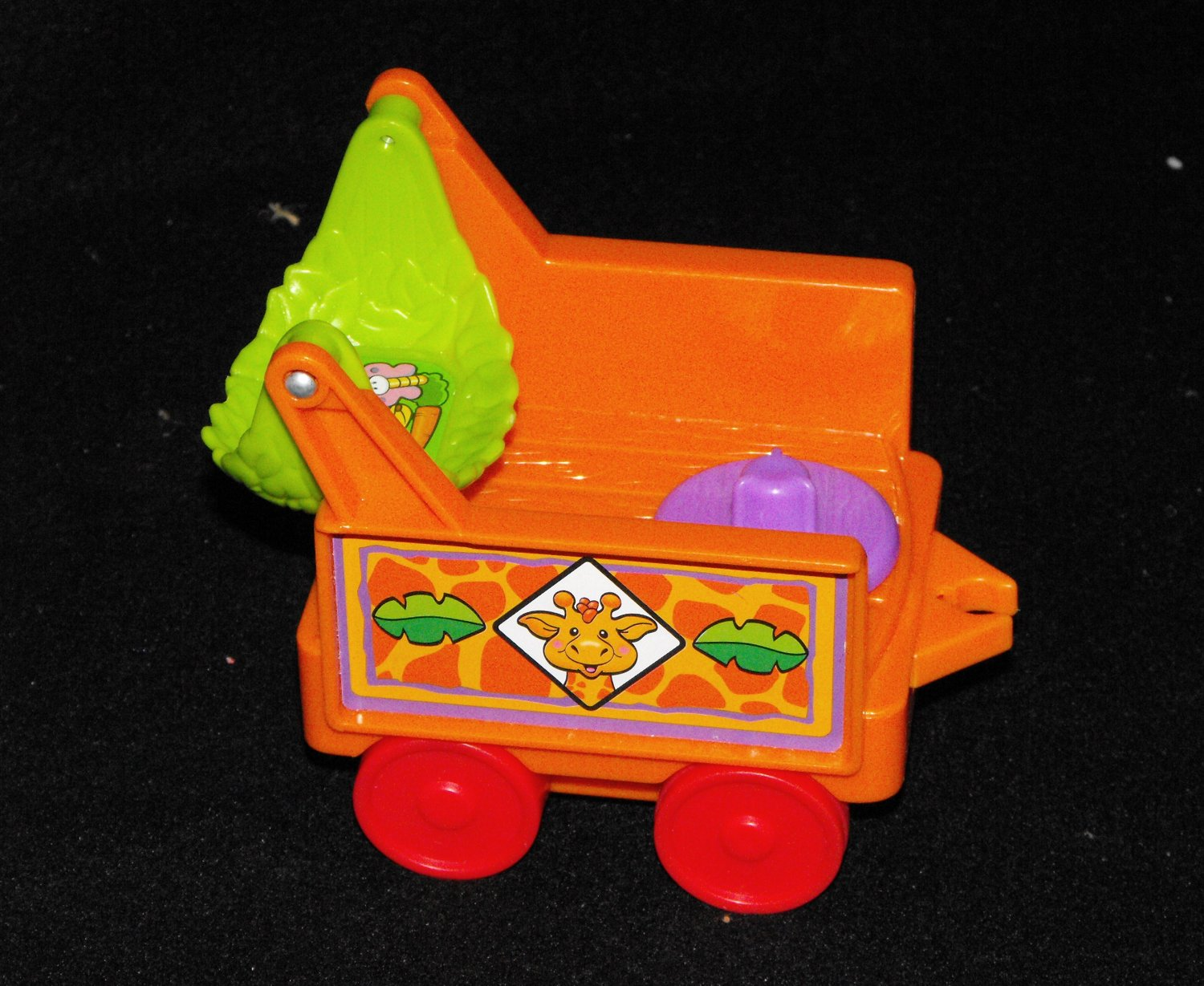 Fisher Price Little People Zoo Orange Train Part