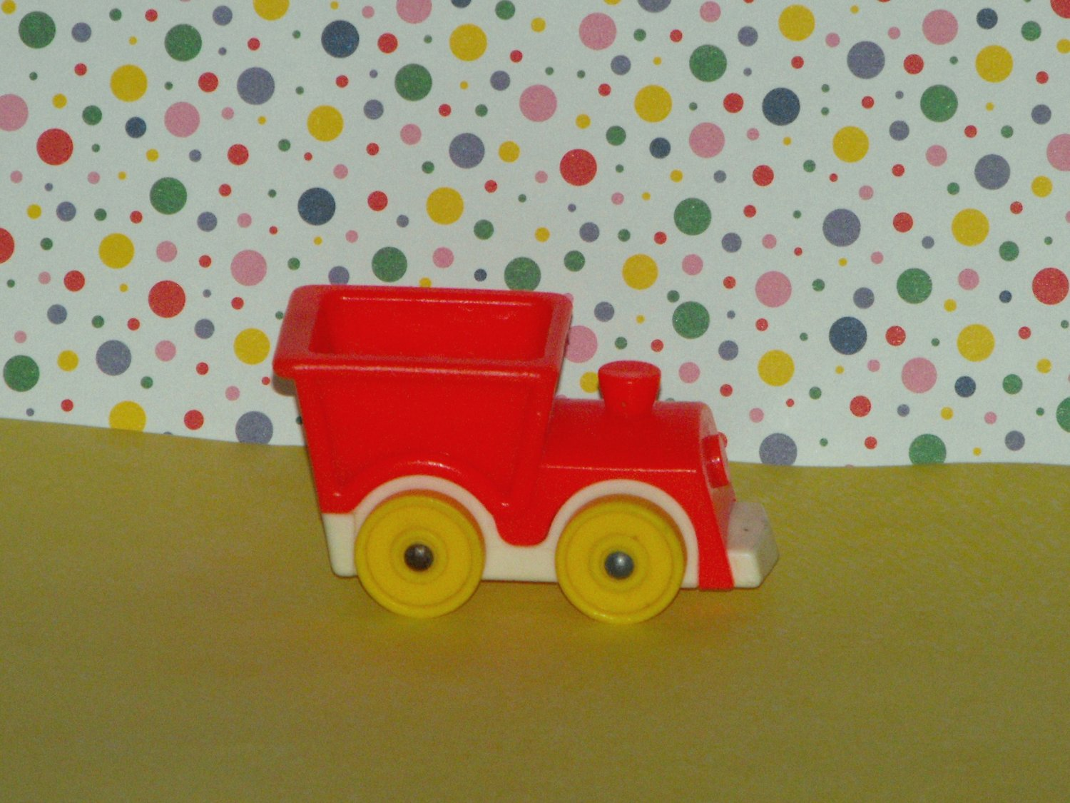 Vintage Fisher Price Little People Little Riders Train
