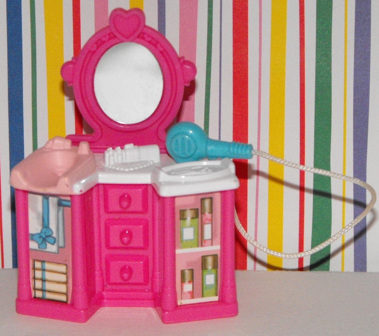 *SOLD~Fisher Price Sweet Streets Salon Vanity Table