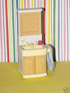 Fisher Price Loving Family Dream Dollhouse Bathroom Vanity