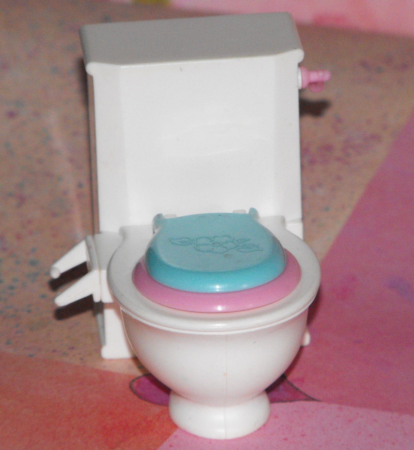 *8/15*SOLD~Matell Potty Training Kelly 1985 TOILET