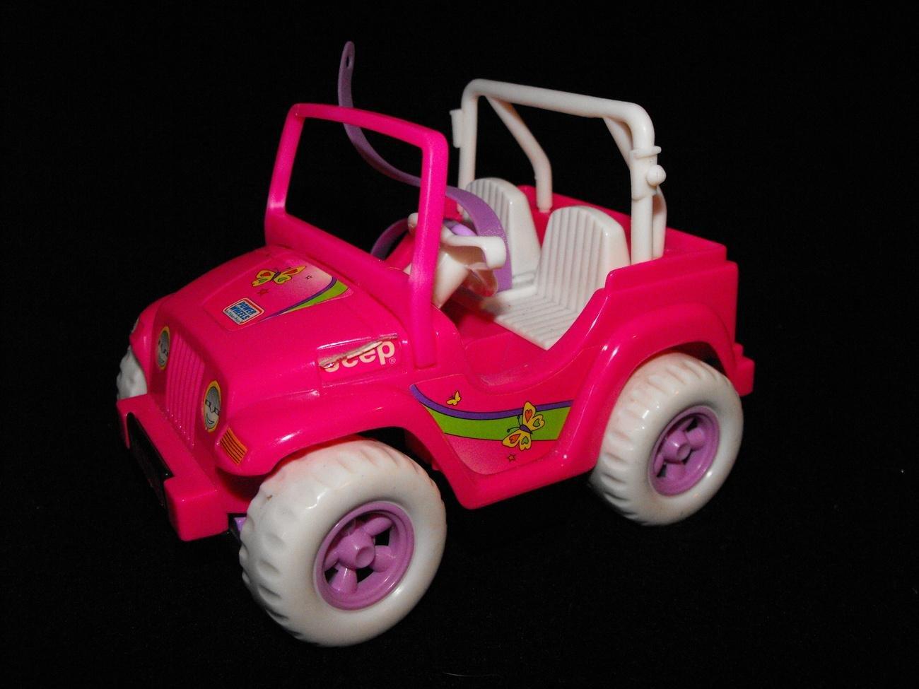 *SOLD Awaiting Feedback*Barbie Kelly & Friends Motorized Jeep