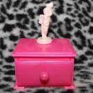 Vintage Barbie Dresser Jewelry Box Decoration Rare Find!