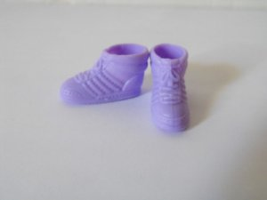 Barbie 80's Purple Sneakers High Top Shoes