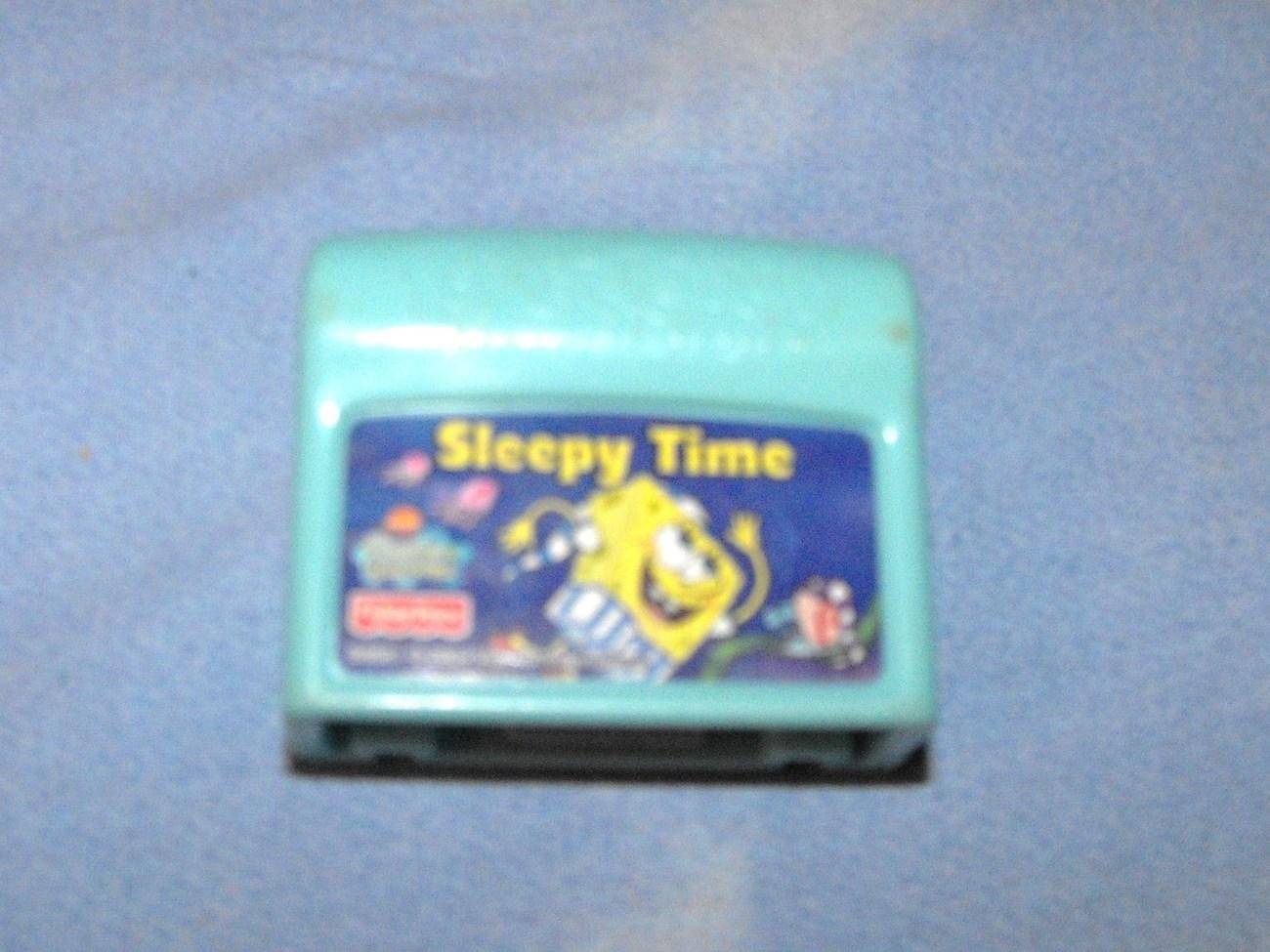 10*SOLD~FISHER PRICE POWERTOUCH SPONGE BOB SLEEPY TIME CARTRIDGE
