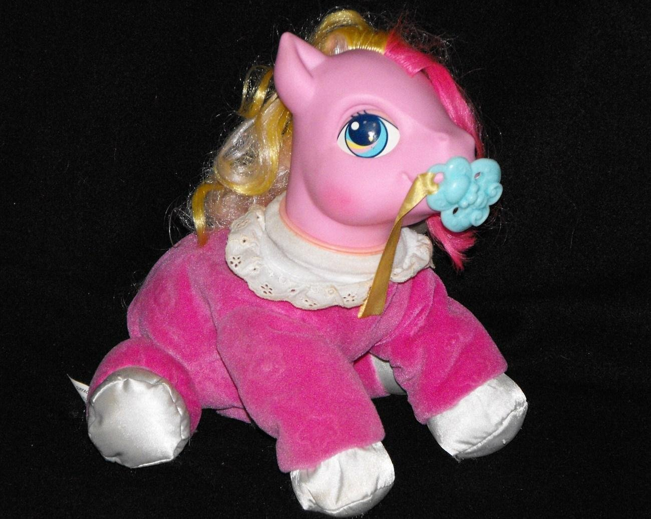 *SOLD~Talking My Little Pony Good Morning Sunshine Baby Hasbro