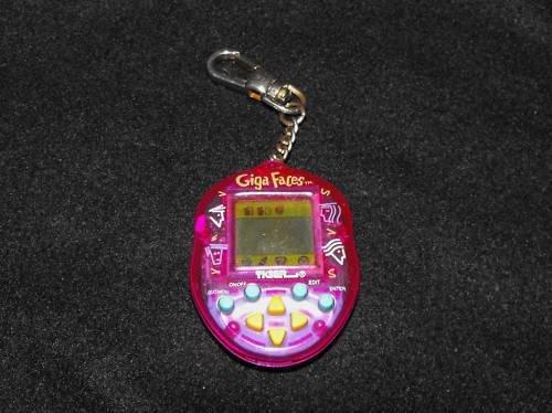 *3/14*SOLD~1997 Tamagotchi Giga Faces Giga Pet~Works! U.S.Seller
