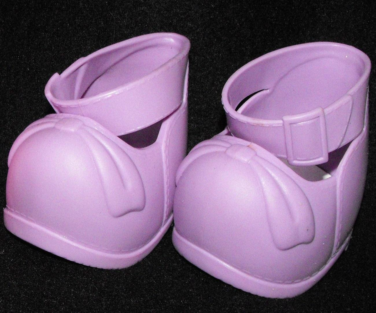 "Cabbage Patch Kids Play Along  16"" Doll Purple Shoes"